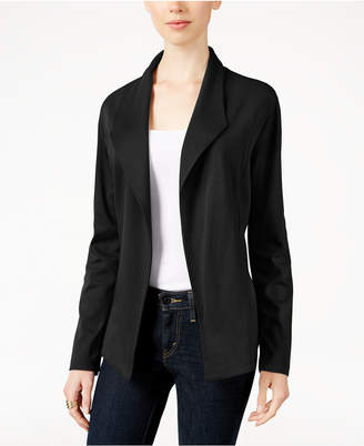 Style & Co Knit Blazer, Created for Macy's $59.50 thestylecure.com