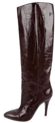 Maison Margiela Pointed-Toe Knee Boots