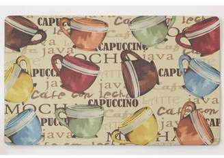 Chef Gear Coffee Cup Party Anti-Fatigue Gelness Comfort Chef Mat