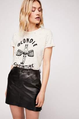 One Teaspoon Oneteaspoon 2020 Leather Mini Skirt