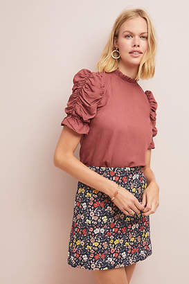 Corey Lynn Calter Floral Mini Skirt