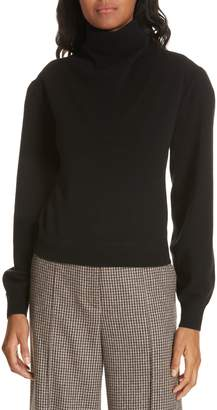 Veronica Beard Lilla Puff Sleeve Cashmere Sweater