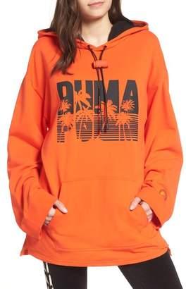Puma FENTY by Rihanna Back Zip Logo Hoodie