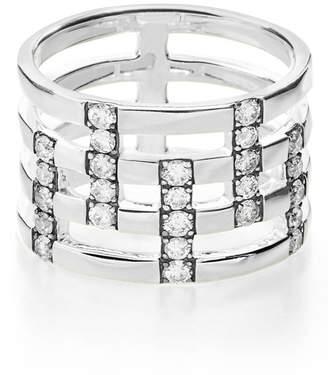 Ippolita 'Glamazon - Stardust' Pave Diamond Openwork Ring
