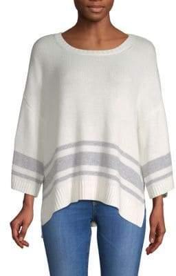 NYDJ Kimono Sleeve High-Low Sweater