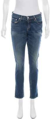 Rag & Bone Dash Mid-Rise Skinny Jeans