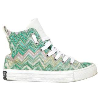 Converse Multicolour Cloth Trainers