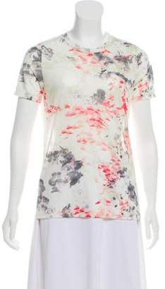 Prabal Gurung Printed Short Sleeve T-Shirt White Printed Short Sleeve T-Shirt