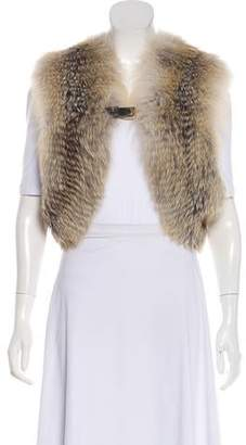 Gucci Fox Fur Vest