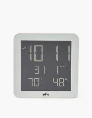 Braun BNC014 Digital Wall Clock in White