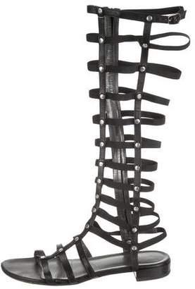 Stuart Weitzman Studded Gladiator Sandals
