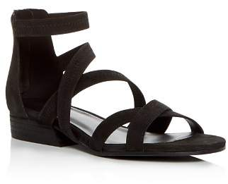 Eileen Fisher Women's Eva Nubuck Leather Crisscross Sandals