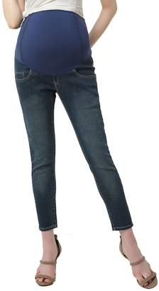Kimi and Kai Tara Crop Maternity Skinny Jeans