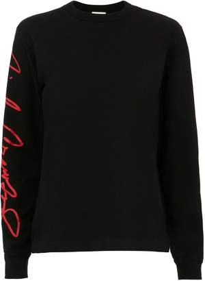 RE/DONE Cindy Crawford Signature Long-Sleeved T-Shirt