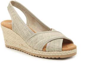 Skechers Cali Monarchs Espadrille Wedge Sandal - Women's