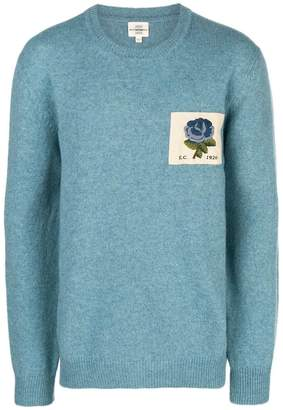Kent & Curwen patch knit sweater