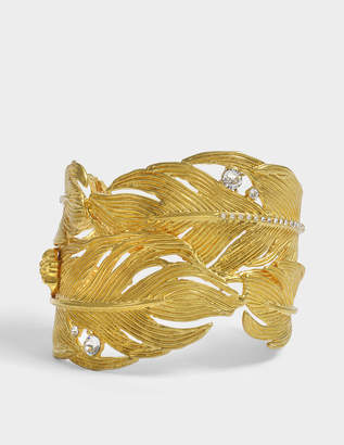 Versace Tribute Native American Bracelet in Gold Brass