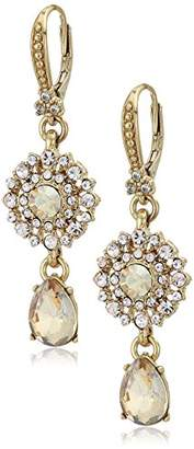 Marchesa Women's Double Drop Earrings
