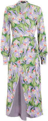 PatBO High-Low Floral Tunic