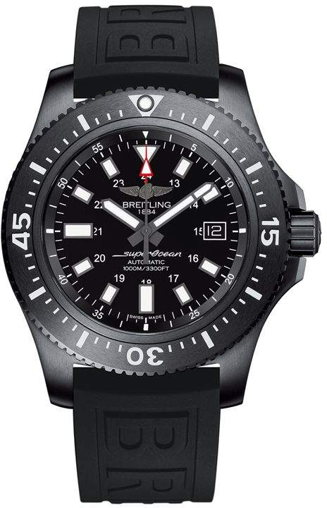 Stainless Steel Superocean Watch 44mm