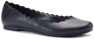 LC Lauren Conrad Women's Scalloped Ballet Flats $49.99 thestylecure.com