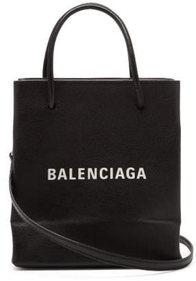 Balenciaga Shopping Tote Xxs - Womens - Black White