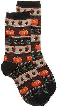 Hot Sox Thanksgiving Fair Isle Crew Socks - Women's