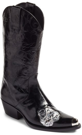 Women's Calvin Klein 205W39Nyc Tex Tubo Western Boot