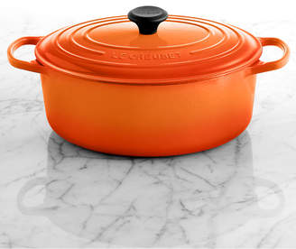 Le Creuset (ル クルーゼ) - Le Creuset Signature Enameled Cast Iron 6.75 Qt. Oval French Oven