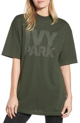 Ivy Park R) Dotted Logo Oversized Tee