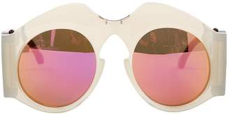 Carven Grey Plastic Sunglasses