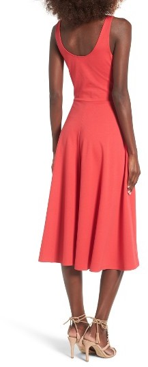 Women's Leith Stretch Knit Midi Dress 5