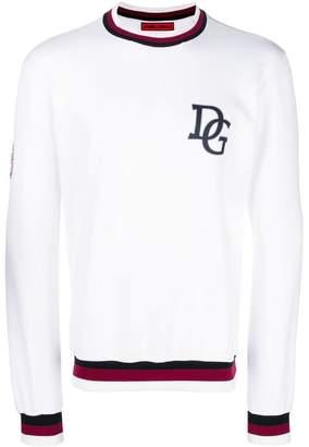 Dolce & Gabbana logo 'King' sweatshirt
