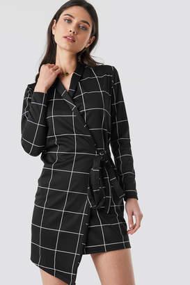 7eb0c2b4573a Black Blazer Wrap Dress - ShopStyle UK