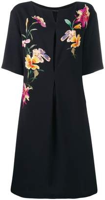 Etro embroidered flower dress