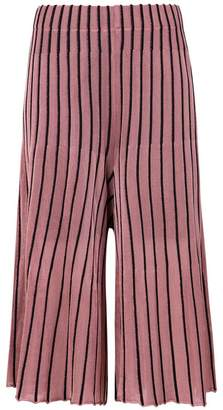 OSKLEN pleated bicolor pants