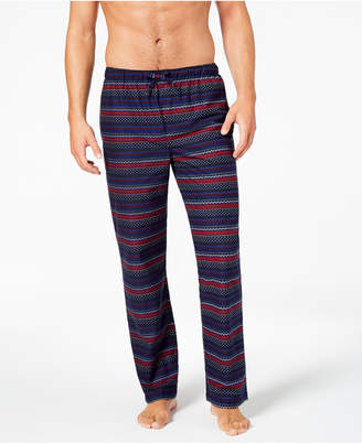Club Room Men's Printed Pajama Pants, Created for Macy's