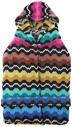 Missoni Vasilij Hooded Cotton Bathrobe
