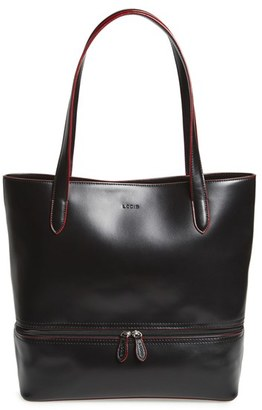 Lodis Audrey Amil Leather Commuter Tote $295 thestylecure.com