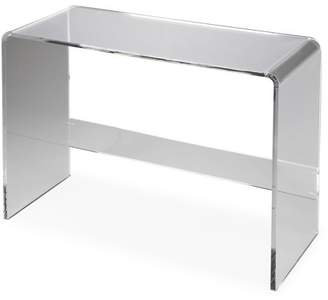 Butler Specialty Company Butler Crystal Acrylic Cocktail Table, Multiple Finishes