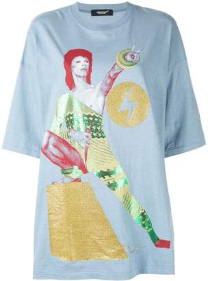 Undercover David Bowie oversized T-shirt