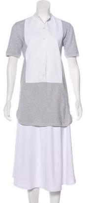 Stella McCartney Short Sleeve Button-Up Tunic