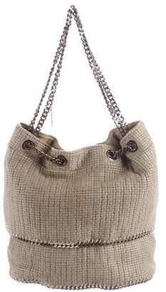 Stella McCartney Woven Falabella Shoulder Bag