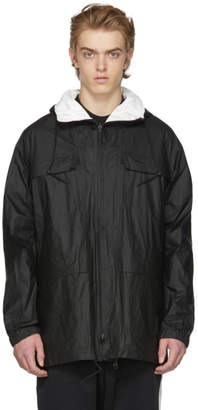 Y-3 Reversible Black and White Tyvek Jacket
