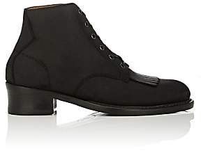 Barbanera BARBANERA MEN'S BUSTER OILED SUEDE BOOTS-BLACK SIZE 9 M
