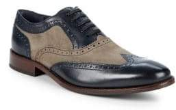 Cole Haan Williams Wing Two-Tone Leather Brogues