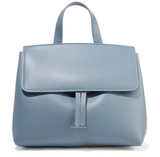 Mansur Gavriel Mini Mini Lady Leather Tote - Light blue