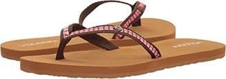Volcom Women's Trek Jacquard Strap Fashion Sandal Flip-Flop