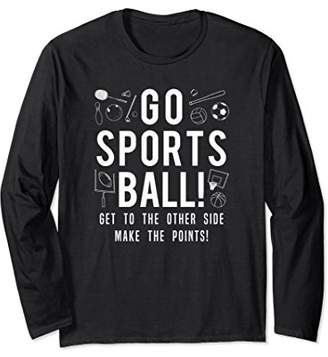 Go Sports Ball Long Sleeve Shirt