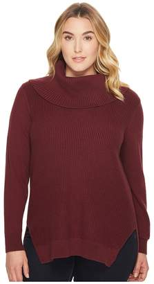 MICHAEL Michael Kors Size Shaker Long Sleeve Cowl Sweater Women's Sweater